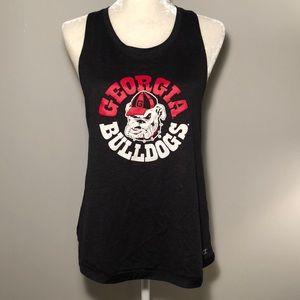 Georgia Bulldogs Racerback Tank